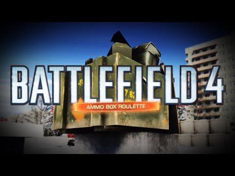AMMO BOX ROULETTE! - Battlefield 4 Dragon's Teeth DLC (Fun Mini Game) |