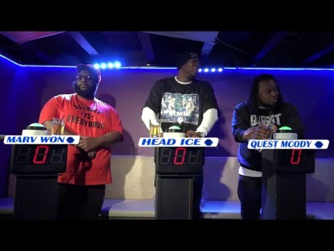 THE BAR EXAM GAME SHOW W/ MARVWON, HEAD ICE & QUEST MCODY - SEASON 4 EPISODE 6
