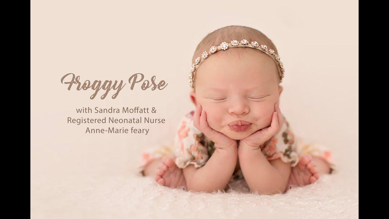 SIB Newborn Safety Series Froggy Pose