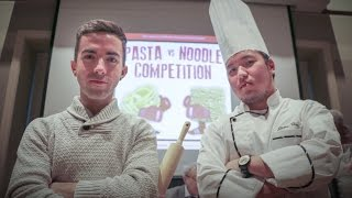 Gambar cover Pasta vs. Noodle Competition