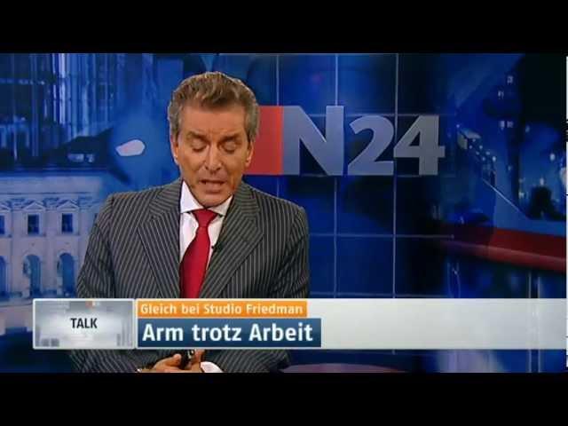 Studio Friedman - Arm trotz Arbeit 19.01.12 | 23:15