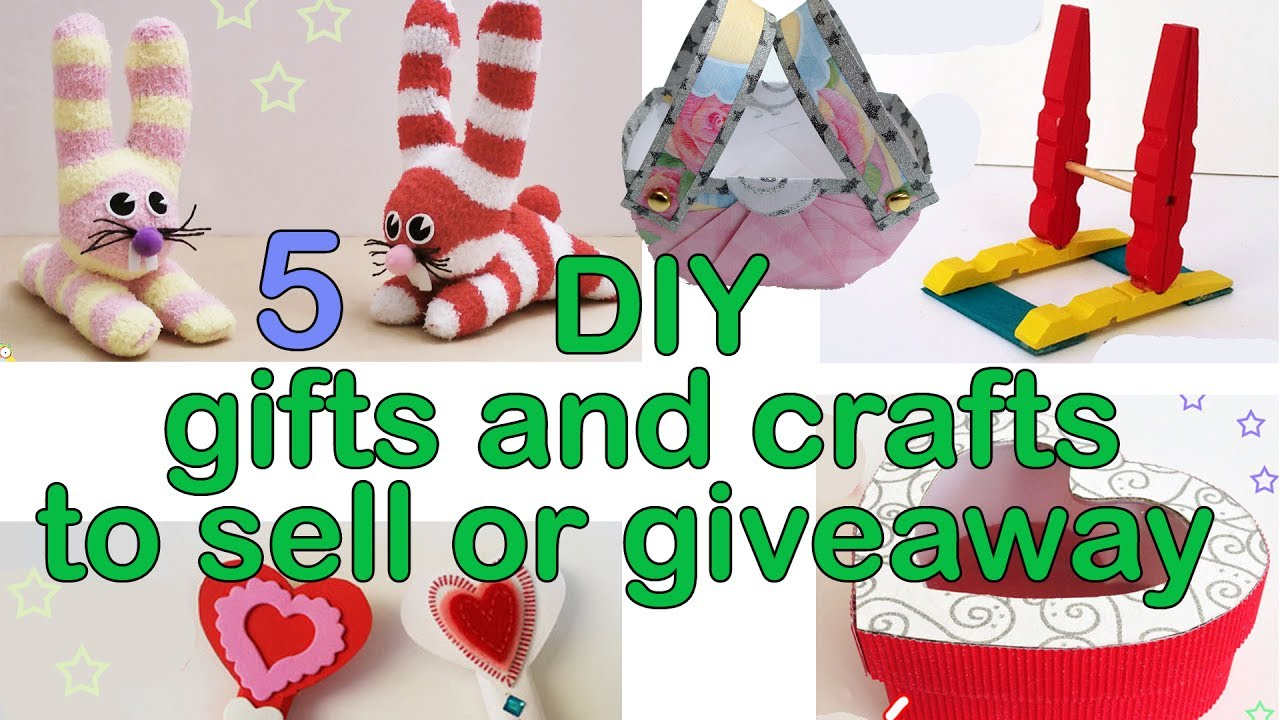 5 Easy Diy Gifts And Crafts Ana Diy Crafts Youtube