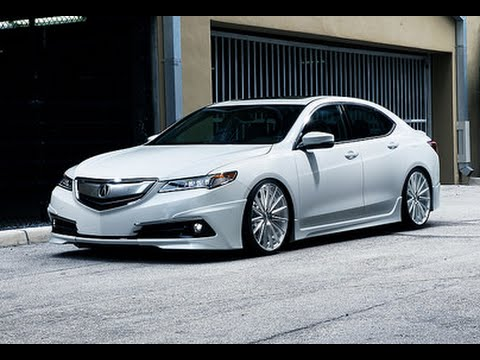 Acura Tlx Vossen 20 Quot Vfs 2 Concave Wheels Youtube