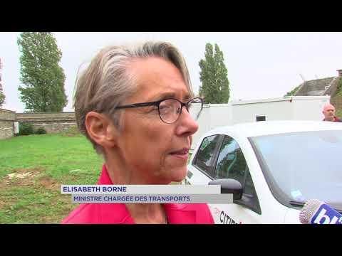 Versailles : la ministre des transports en visite à Vedecom