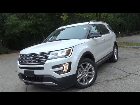 2016 Ford Explorer XLT Review - YouTube