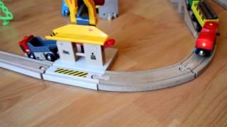 Мультик для детей про поезда Брио Brio toys train(Мультик для детей про поезда и разводной мост Video for children BRIO Toy Trains., 2016-03-06T12:09:48.000Z)