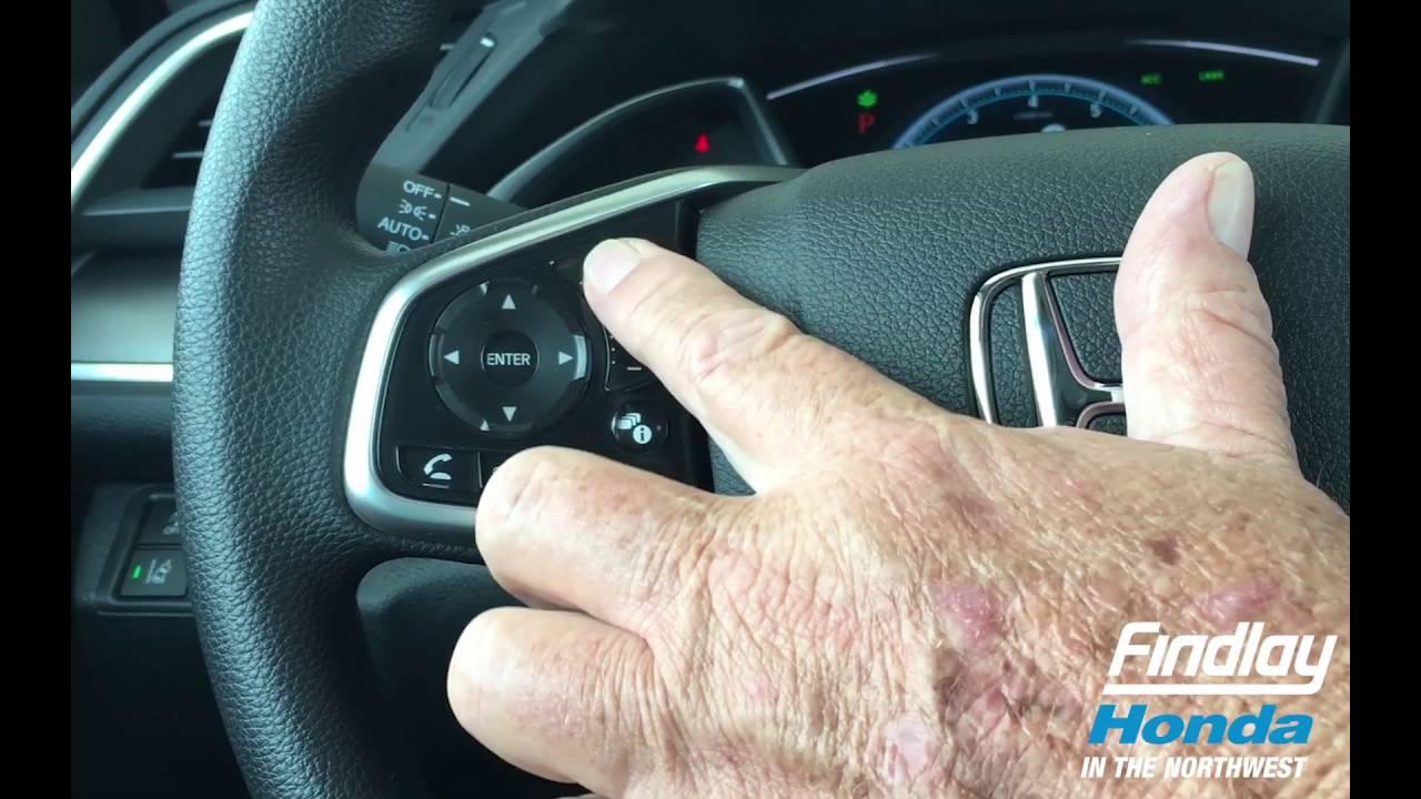 Tips & Hints   2016 Civic EXL #4   volume controls