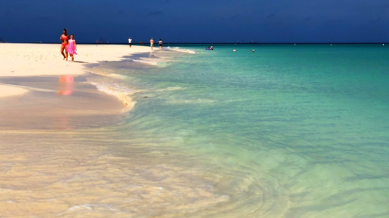 Best Beaches On Aruba In The Caribbean Sea Youtube