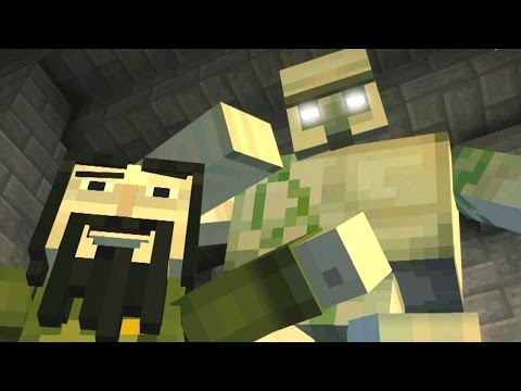 Minecraft: STORY MODE - THE THIEF'S EVIL IRON GOLEM ATTACK!! [2]