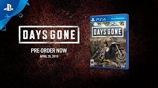 Days Gone - Pre-Order Announce Video | PS4