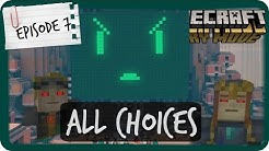 Minecraft Story Mode | ALL CHOICES | Episode 7