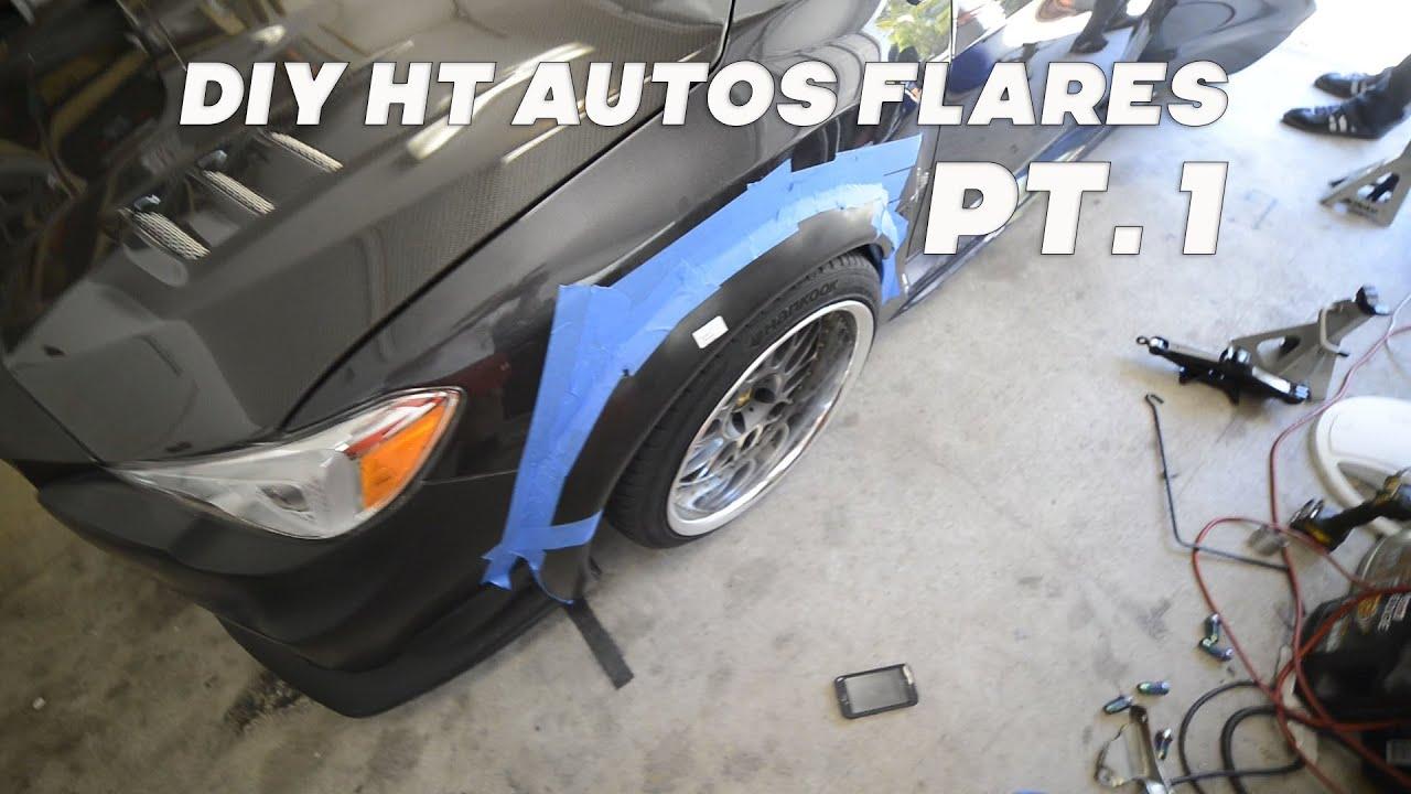 2015 Subaru Wrx Ht Autos Fender Flares Diy Pt 1 Youtube