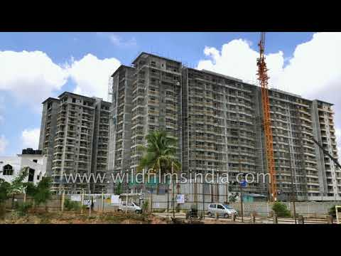 Bangalore IT city commercial and residential space demand continues - buildings under constructed
