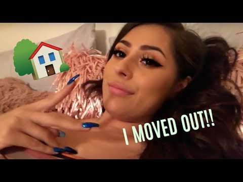I MOVED OUT!!