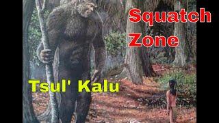 Tsul Kalu The Slant Eyed Giant. Squatch Zone Deep dives a Cherokee Legend!