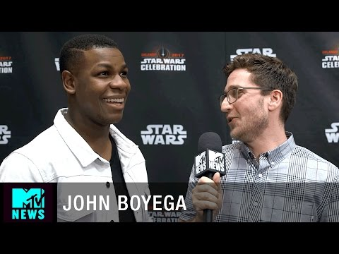 What Does John Boyega Think About Finn/Poe Fanfiction? | MTV News