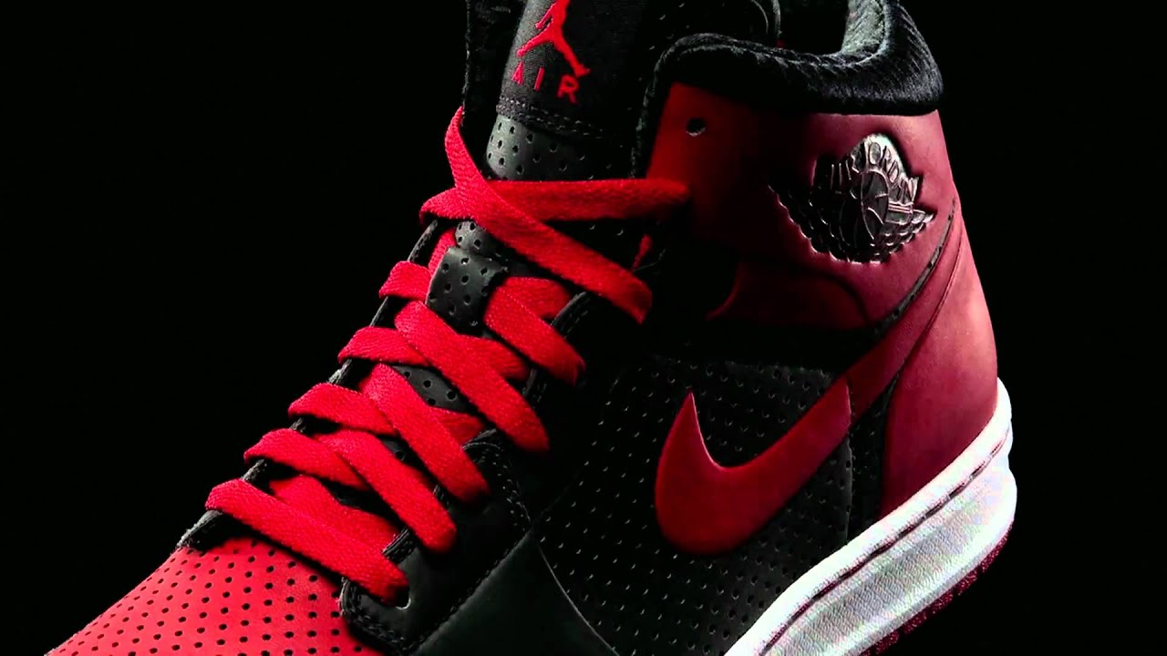 Air Jordan Alpha 1 Basketball Shoe Demo