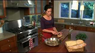 "Mushroom Bruschetta Recipe - Italian Chef Deborah Dal Fovo ""bruschetta With Truffle Style Mushrooms"""