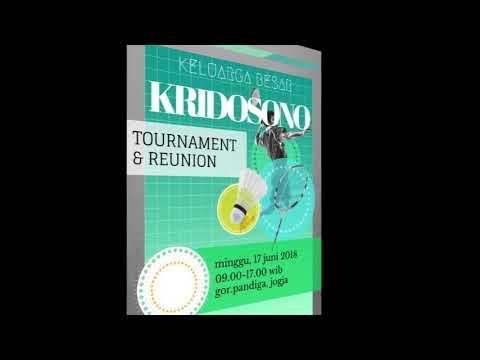 KRIDOSONO BADMINTON TOURNAMENT 2018