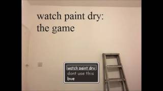 Credits Theme - Watch paint dry
