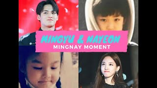 [TWICETEEN] MINGYU SEVENTEEN & NAYEON TWICE  (CUTE MOMENT ????)