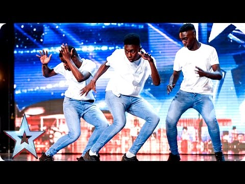 Mythical Onez are like the Reggie N Bollie of dance | Auditions Week 6 | Britain's Got Talent 2016
