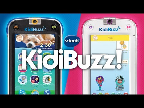 VTECH'S KIDIBUZZ SMART DEVICE IS KID-SAFE! A Toy Insider Play by Play