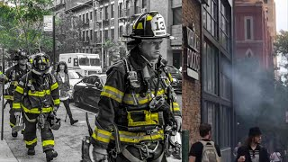 | FDNY Full House Run/Pre-Arrival Box 1163 | Smoke From Whole Foods
