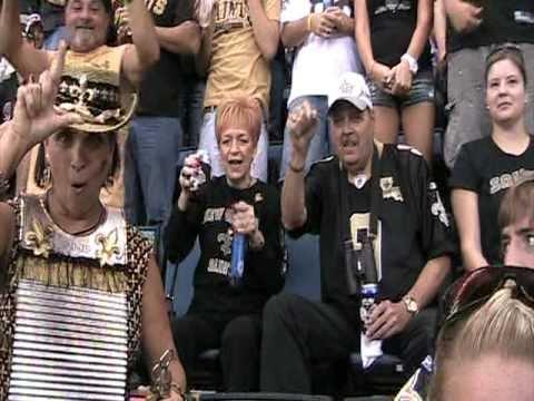 New Orleans Saints Fans After Saints Score