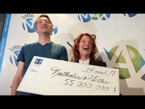Montreal couple wins $55-million Lott Max prize