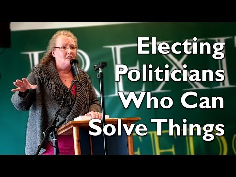 Professor Dolores Cahill speaks at Irexit Limerick Conference