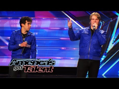 "Diverse: Jersey Boy Band Breaks the Buzzers with an ""I Gotta Feeling"" Cover - America's Got Talent"