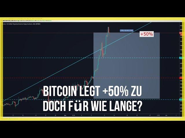🤯8200$ Bitcoin und Ethereum legen ordentlich zu🚀