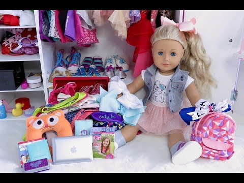 How to Pack For Your American Girl Doll JoJo Siwa