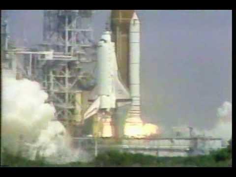 STS-43 launch & landing (8-2-9...