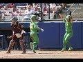 Download Highlights: Oregon softball slugs its way past Arizona State in Women's College World Series opener