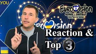 Vidbir 2019 | Semi Final 1 Song Reaction ( Ukraine Eurovision 2019)