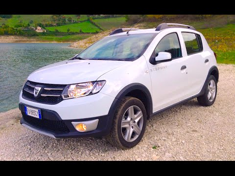 new dacia sandero stepway 2016 first test drive youtube. Black Bedroom Furniture Sets. Home Design Ideas