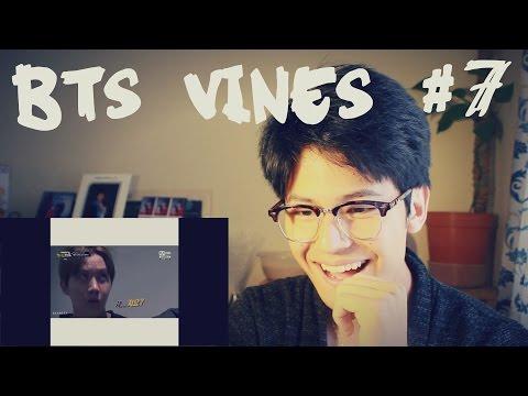 BTS VINES #7 REACTION
