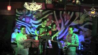 The Fuzionazz Project - The Jetsons Theme @ Blujaz 14 April 2012