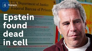 Disgraced financier Jeffrey Epstein found dead in cell awaiting trial