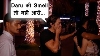 Bobby Deol after Party fully Drunk covers his mouth in Public
