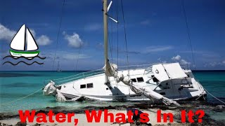 How to Get Drinking Water on a Sailboat, in Chagos Islands -What's in Water? Patrick Childress #16