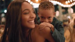 JOURDAN DUNN AND HER SON RILEY STAR IN BRANDON MAXWELL's SS18 CAMPAIGN