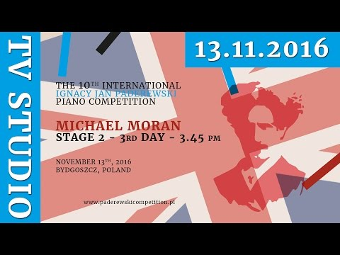 Michael Moran - 13th November 2016 r. - Studio TV (ENG)