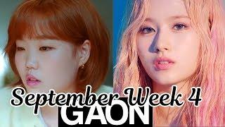 [TOP 50] Gaon Korean Music Chart 2019 [September Week 4]