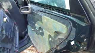 How to remove door trim panel Toyota Corolla