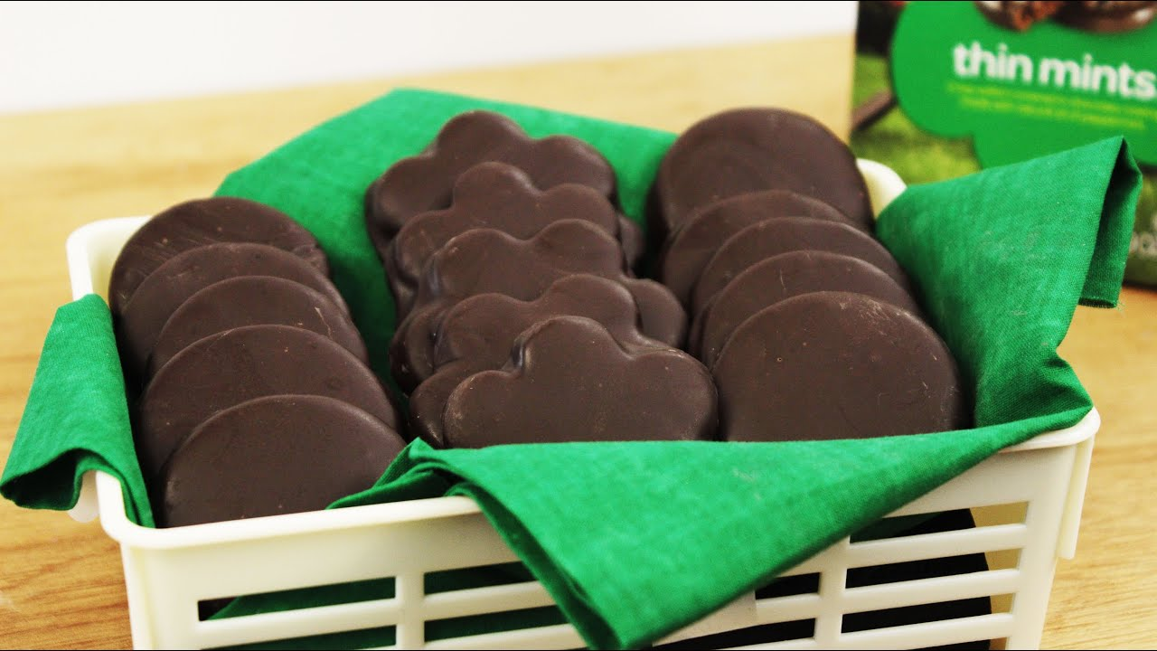 How to Make Homemade Thin Mints  YouTube