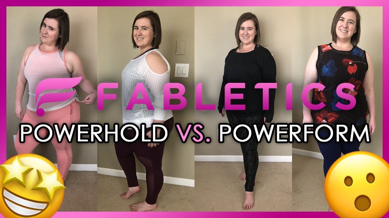 97a0746fc5afe Fabletics: Powerhold Vs. Powerform Active Wear Review - YouTube