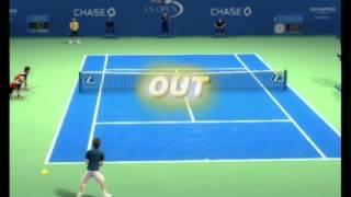 Grand Slam Tennis (Wii): Singles - Andy Murray vs Rafael Nadal